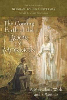 Coming Forth of the Book of Mormon, The