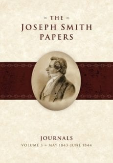 Joseph Smith Papers, Journals - Vol. 3 May 1843 - June 1844