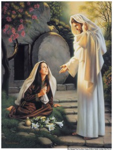 Mary and the Resurrected Jesus Christ