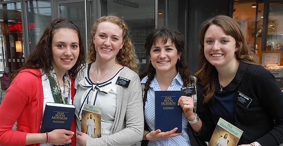 Sister Missionaries serving in Berlin Germany. (Photo from LDS.org.)