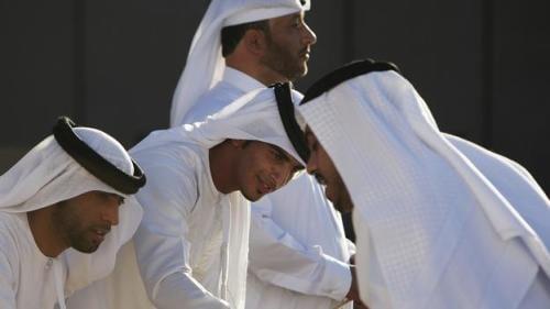 V Australia & Etihad Celebrate Inaugural Abu Dhabi Flight