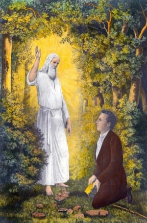 the-angel-moroni-delivering-the-plates-everett