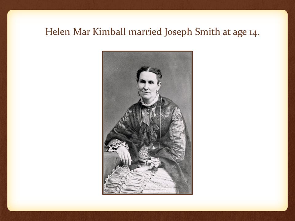 Helen Mar Kimball Slide