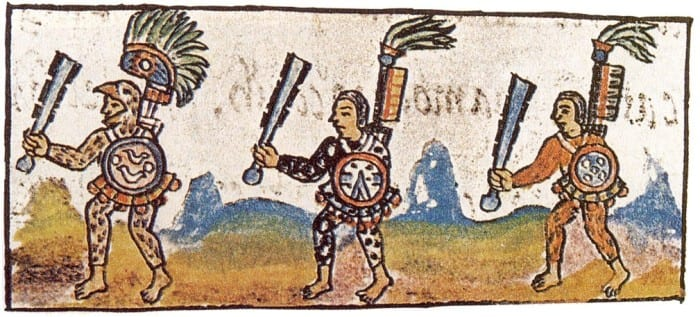Florentine_Codex_IX_Aztec_Warriors