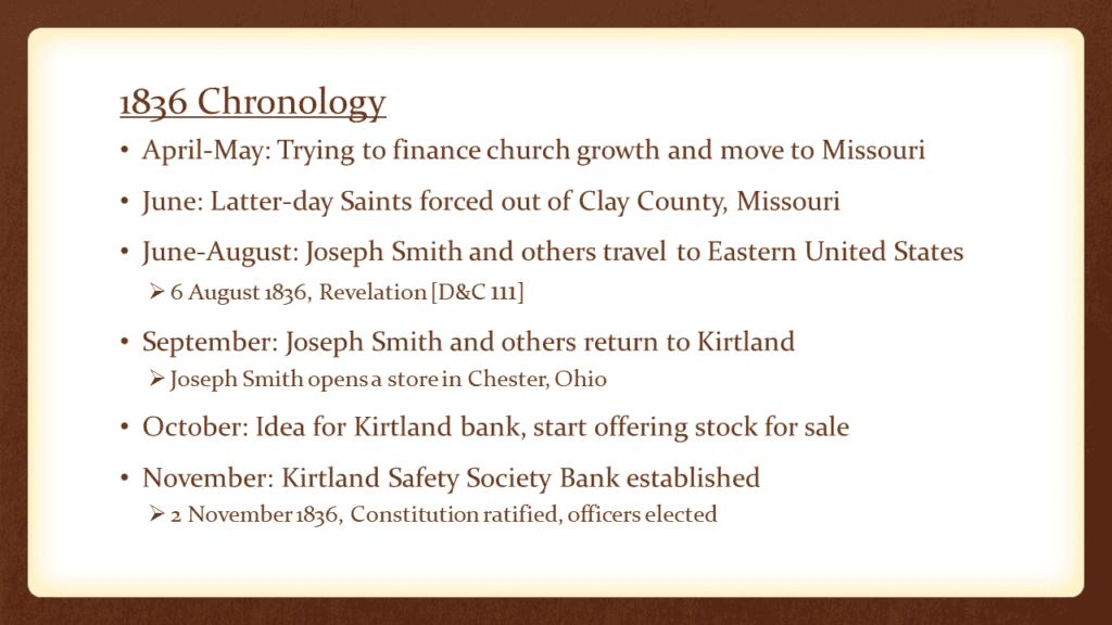 Finances and Faith in the Kirtland Crisis of 1837 - FairMormon