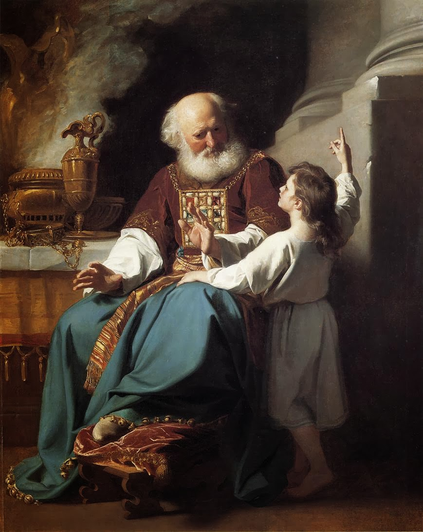 """What Is the Meaning of the Samuel's Reply: """"Here Am I"""