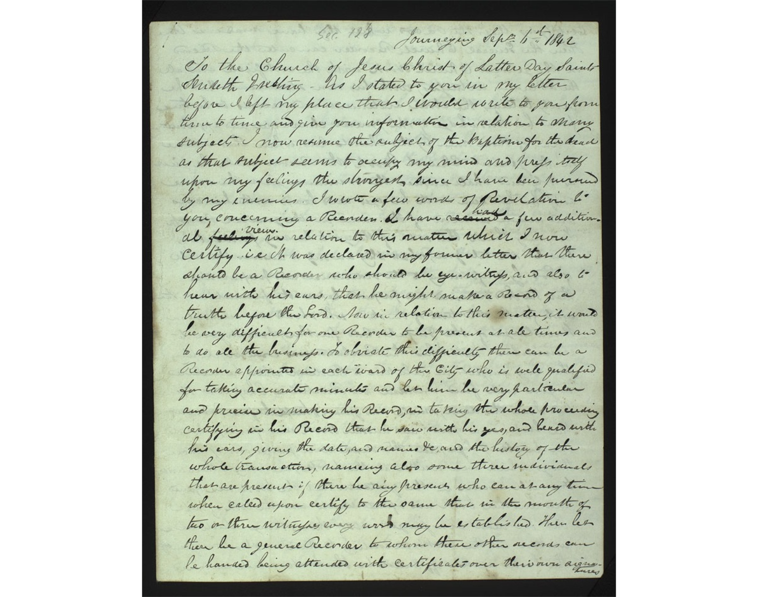 Book Review: The Joseph Smith Papers, Documents, Volume 11: September 1842 – February 1843